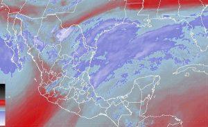 Se prevén tormentas intensas en San Luis Potosí, Hidalgo, Puebla y Veracruz