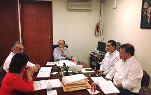 Acuerda el edil Cuco Rovirosa y el titular de SEGOB prepararse para el estiaje en Macuspana