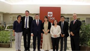 Delegación de Kiev, Ucrania visita la CDMX para conocer «El Médico En Tu Casa»