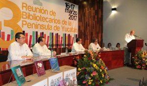 Incrementan acervo de Red Estatal de Bibliotecas Públicas en Yucatán