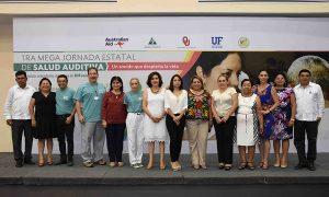 Inicia primera mega jornada estatal de Salud Auditiva en Campeche