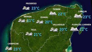 Se prevén tormentas muy fuertes en regiones de Puebla