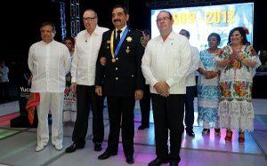 Reconocen trayectoria del comandante Luis Felipe Saidén Ojeda