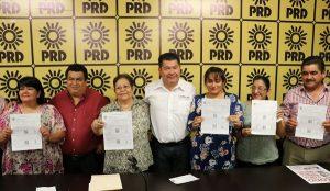 Continúa PRD dando inclusión y apertura a todos los ciudadanos: Candelario Pérez Alvarado