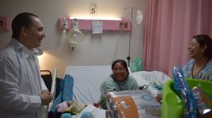 Segundo nacimiento de trillizos en Hospital de la Mujer de San Cristóbal de Las Casas