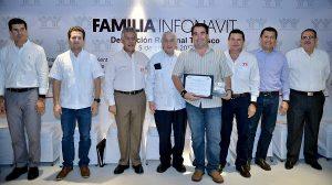 Reconoce Infonavit compromiso del gobernador, Arturo Núñez Jiménez en materia de vivienda