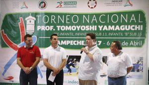 Inaugura el gobernador Alejandro Moreno Cárdenas Torneo Nacional de Judo