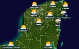 Se seguirán presentando temperaturas extremadamente calurosas en Yucatán