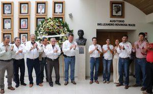 Recuerdan con afecto convicción social de Don Leandro Rovirosa, en 3er Aniversario Luctuoso