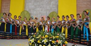 Llevan embajadoras ambiente de jolgorio a municipios de la Chontalpa