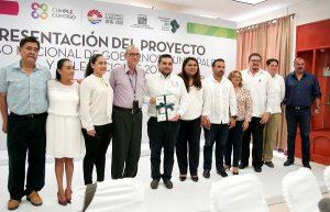 Recibe Ayuntamiento de BJ información del censo 2015 a gobierno municipales