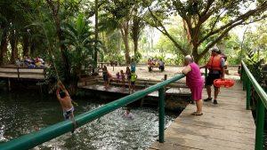 Refuerzan medidas de prevención y auxilio en balnearios y sitios turísticos de Tabasco