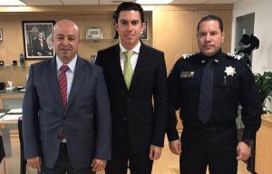Gestiona Remberto Estrada acciones federales para impulsar la seguridad en Cancún