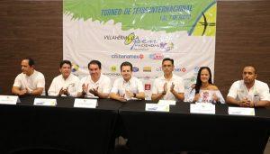 Respalda Gaudiano torneo de tenis previo al Villahermosa Open Haciendas