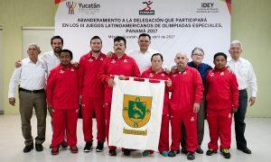 Yucatecos, rumbo a latinoamericano de Olimpiadas Especiales