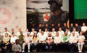 Asistió Arturo Núñez Jiménez a reunión preventiva por inicio de temporada de ciclones