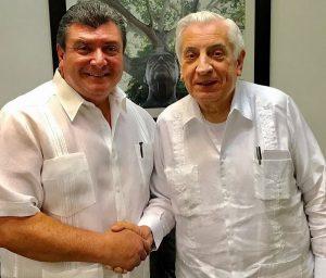 Sostiene Gobernador Núñez reunión con alcalde de Teapa