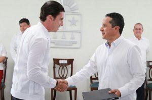 Firma Remberto Estrada convenio de adhesión en materia de SeguridadPública