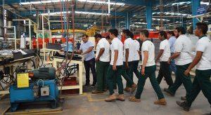 Alumnos del Conalep Yucatán conocen procesos empresariales
