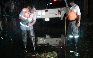 Atiende Gobierno de CDMX encharcamientos por lluvia