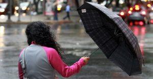 Se registra lluvia y tormenta eléctrica en CDMX provoca caída de arboles