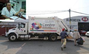 Camiones nuevos de recolección de basura fortalecen rutas de servicio en Centro