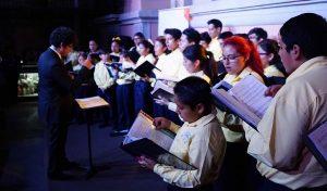Exhibe Coro Esperanza Azteca talento y carisma, en la Casa Carlos Pellicer
