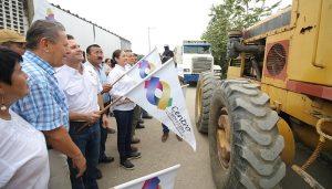 Da Gaudiano respuesta a vieja demanda de repavimentar camino en Anacleto Canabal 1ª