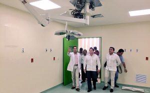 Supervisa Salud avance de obras en el Hospital del Niño