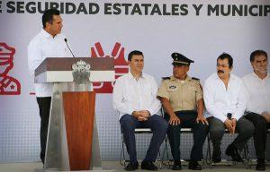 Policía de Campeche, unificada, preparada y certificada: Alejandro Moreno Cárdenas
