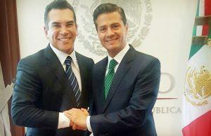 Se reúne Moreno Cárdenas con Peña Nieto para impulsar el desarrollo de Campeche