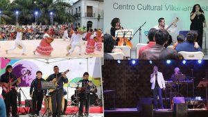 Aplauden ciudadanos a los artistas del Festival de la Ciudad de Villahermosa en diversas sedes