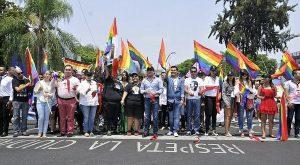 Participó el gobernador de Jalisco, Aristóteles Sandoval en marcha gay