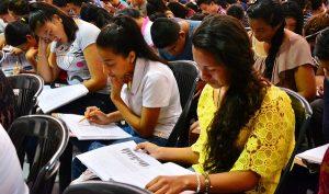 Más de 11 mil 500 aspirantes a ingresar a la UJAT presentaron examen de selección