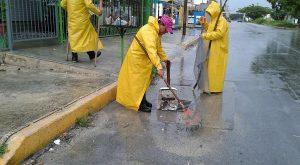 Redobla la Dirección General de Servicios Públicos Municipales esfuerzos coordinados ante lluvias