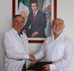 Sergio Berzunza Camejo, Enlace Institucional de la Secretaria de Gobierno en Campeche