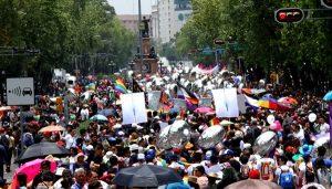 Multitudinaria la XXXIX Marcha LGBTTTI en la CDMX
