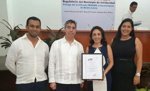 Recibe Ayuntamiento de BJ certificado del programa de reconocimiento y operación SARE