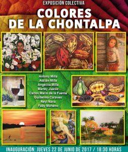 """Inauguran la Exposición """"Colores de la Chontalpa"""" en la Casa de Tabasco en México"""