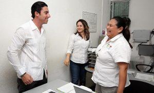 Remberto Estrada reconoce dedicación y esfuerzo de trabajadores de Benito Juárez