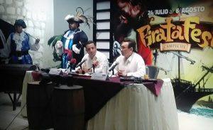 """El """"Pirata Fest Campeche"""" del 24 de julio al 6 de agosto"""