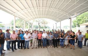 Entrega Gaudiano la techumbre más grande de lo que va de su administración en Gaviotas Sur