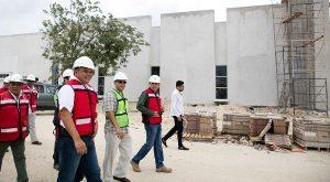 Obra hospitalaria en Yucatán con accesibilidad vial