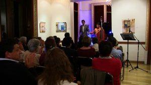 Ofrecen recital de Piano y Contrabajo en la Casa de Tabasco en México Carlos Pellicer