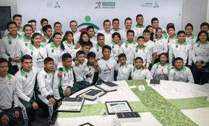 Alejandro Moreno Cárdenas refrenda compromiso con el Deporte en Campeche