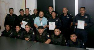 Policía municipal en Benito Juárez reconocida por su permanente labor de vigilancia
