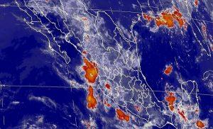 Se prevén tormentas en Chiapas, y muy fuertes en otras nueve entidades de México