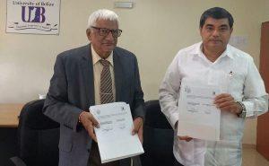 Establece UJAT convenio internacional con Universidad de Belice