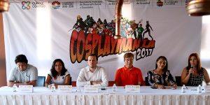 Invitan a jóvenes de Benito Juárez a participar en Cosplaymania 2017