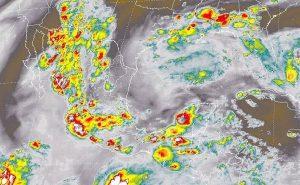 Depresión tropical 9-E en el Océano Pacífico podría convertirse en tormenta